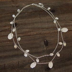 Nordstrom Silver Layered Necklace